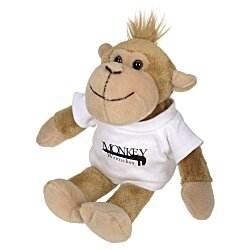 View a larger, more detailed picture of the Mascot Beanie Animal - Monkey - 24 hr