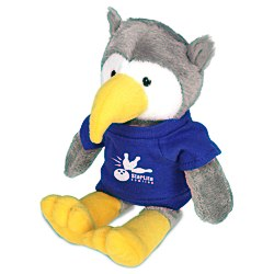 View a larger, more detailed picture of the Mascot Beanie Animal - Owl - 24 hr