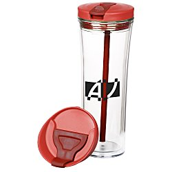 View a larger, more detailed picture of the Hot & Cold Tower Tumbler - 20 oz