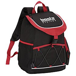 View a larger, more detailed picture of the Snap Close Backpack Cooler