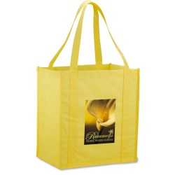 View a larger, more detailed picture of the Value Grocery Tote - 13 x 12 - Full Color