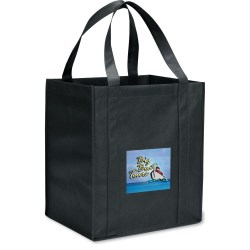 View a larger, more detailed picture of the Value Grocery Tote - 15 x 13 - Full Color