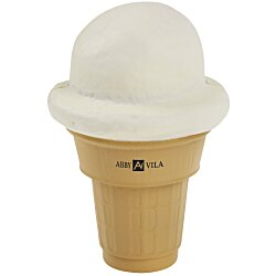 View a larger, more detailed picture of the Ice Cream Cone Stress Reliever - 24 hr