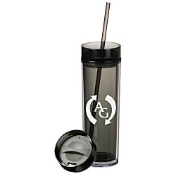 View a larger, more detailed picture of the Hot & Cold Skinny Tumbler - 14 oz