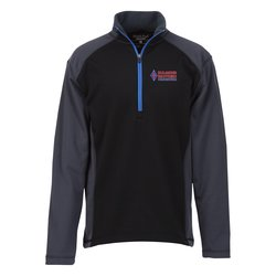 View a larger, more detailed picture of the Microfleece Color Zip Pullover - Men s