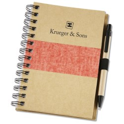 View a larger, more detailed picture of the Linen Accent Notebook Set