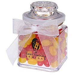 View a larger, more detailed picture of the Plastic Goody Jar - Gourmet Jelly Beans