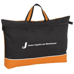 View a larger, more detailed picture of the Color Pop Document Bag - Closeout