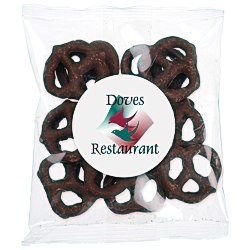 View a larger, more detailed picture of the Tasty Treats - Mini Chocolate Pretzels