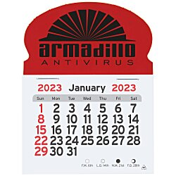 View a larger, more detailed picture of the Peel-n-stick Calendar - Oval