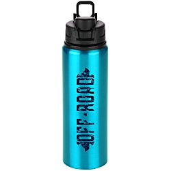 View a larger, more detailed picture of the h2go Surge Aluminum Sport Bottle - 28 oz