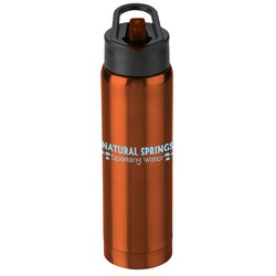 View a larger, more detailed picture of the h2go Arctic Vacuum Sport Bottle - 17 oz 