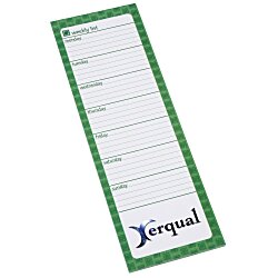 View a larger, more detailed picture of the Bic Magnetic Manager Notepad - Weekly - 50 Sheet