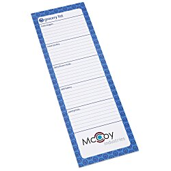 View a larger, more detailed picture of the Bic Magnetic Manager Notepad - Grocery - 25 Sheet
