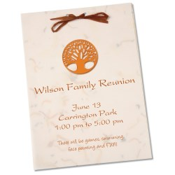 View a larger, more detailed picture of the Seeded Invitation Program - 7 x 5 - Marigold