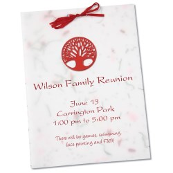View a larger, more detailed picture of the Seeded Invitation Program - 7 x 5 - Scarlet Sage