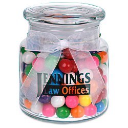 View a larger, more detailed picture of the Sweeten Up Candy Jar - Rainbow Bubble Gum