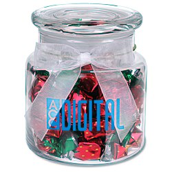 View a larger, more detailed picture of the Sweeten Up Candy Jar - Strawberry Delights