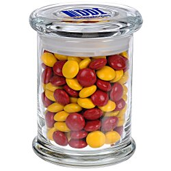 View a larger, more detailed picture of the Snack Attack Jar- Chocolate Buttons