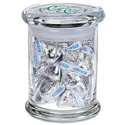 View a larger, more detailed picture of the Snack Attack Jar - Hershey s Chocolate Kisses