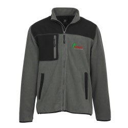 View a larger, more detailed picture of the Lincoln Fleece Jacket - Men s