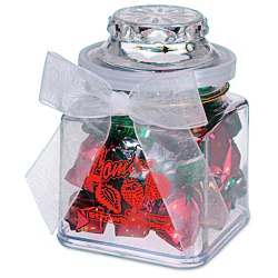 View a larger, more detailed picture of the Plastic Goody Jar - Strawberry Delight