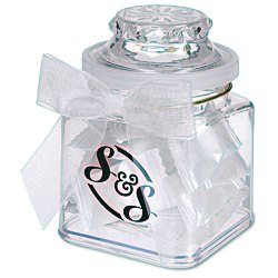 View a larger, more detailed picture of the Plastic Goody Jar - Flavor Burst Candies
