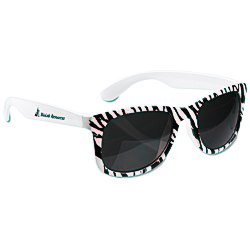 View a larger, more detailed picture of the Zebra Hipster Shades