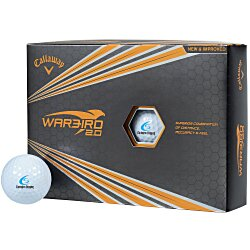 View a larger, more detailed picture of the Callaway Warbird 2 0 Golf Ball - Closeout