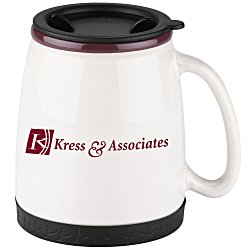 View a larger, more detailed picture of the Ceramic Travel Mug - 18 oz 
