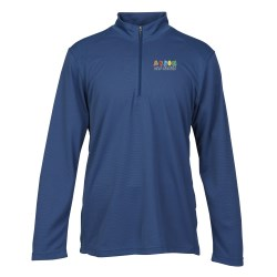 View a larger, more detailed picture of the Performance Pinstripe Half Zip Pullover - Men s