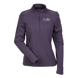 View a larger, more detailed picture of the Performance Pinstripe Half Zip Pullover - Ladies