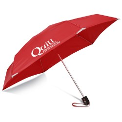 View a larger, more detailed picture of the WalkSafe Mini Umbrella - 40 Arc - Overstock