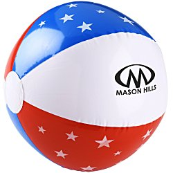 View a larger, more detailed picture of the Patriotic Beach Ball