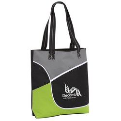View a larger, more detailed picture of the Composition Pocket Tote - Closeout