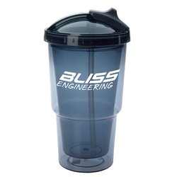 View a larger, more detailed picture of the Sippin & Slidin Tumbler with Straw - 16 oz