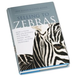 View a larger, more detailed picture of the Selling to Zebras