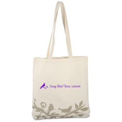 View a larger, more detailed picture of the Cotton Songbird Tote - Closeout