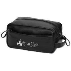 View a larger, more detailed picture of the Deluxe Dopp Travel Bag - Closeout