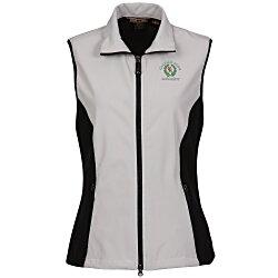 View a larger, more detailed picture of the North End 3-Layer Soft Shell Vest - Ladies