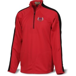 View a larger, more detailed picture of the Half-Zip Athletic Double Knit Pullover - Men s