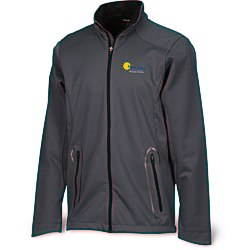 View a larger, more detailed picture of the Splice 3-Layer Bonded Soft Shell Jacket - Men s