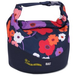 View a larger, more detailed picture of the BUILT Rolltop Lunch Bag - Lush Flower