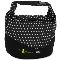 View a larger, more detailed picture of the BUILT Rolltop Lunch Bag - Mini Dot