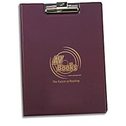 View a larger, more detailed picture of the Hazel Encore Vinyl Folder - w Clip