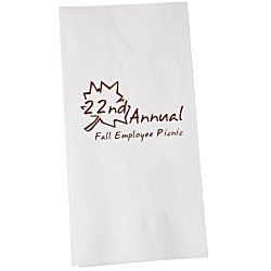 View a larger, more detailed picture of the Dinner Napkin - 2-ply - 1 8 Fold - White