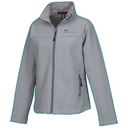 View a larger, more detailed picture of the Devon & Jones Soft Shell Jacket - Ladies