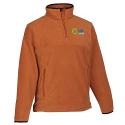 View a larger, more detailed picture of the Chestnut Hill 1 4 Zip Microfleece Pullover