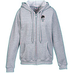 View a larger, more detailed picture of the Gildan Full-Zip Hoodie - Ladies - Screen