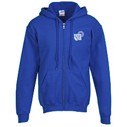 View a larger, more detailed picture of the Gildan Full-Zip Hoodie - Men s - Screen